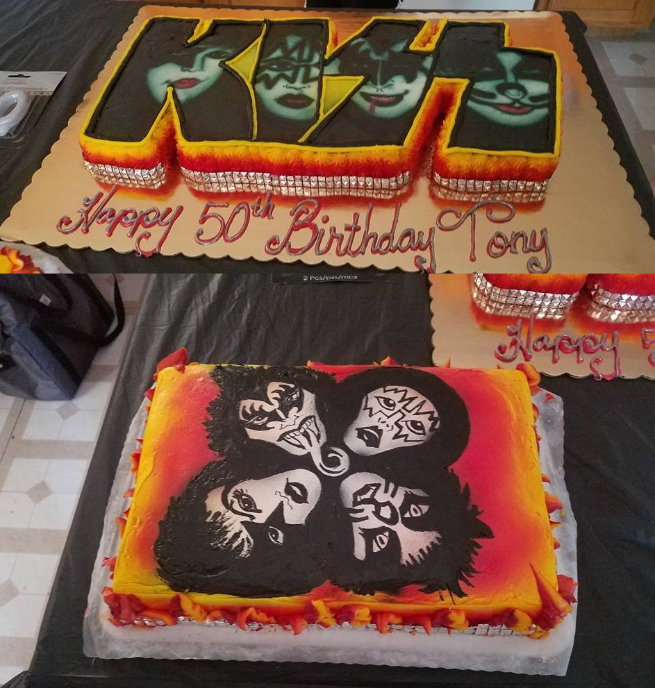 Basquiat518 On Twitter Who Doesnt Love Classic Genuine KISS No One Is Putting Thayer Their Cakes