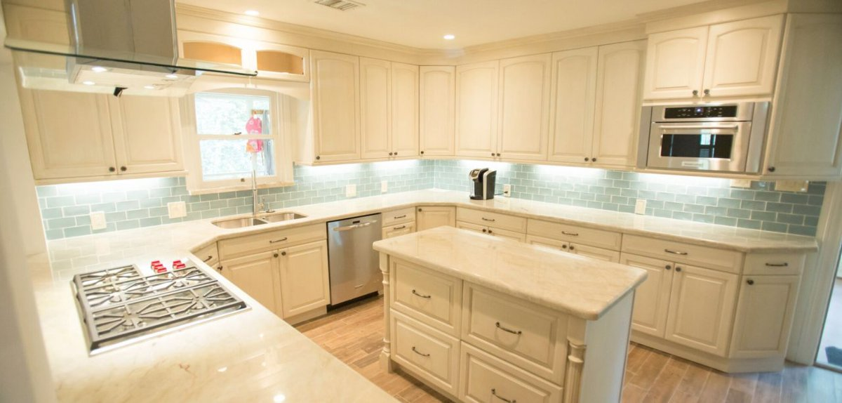 They Came To The #USA #Cabinet #Store #Houston, Texas #showroom And Began  Working Https://www.usacabinetstore.com/kitchen Remodeling Houston Tx/ ...