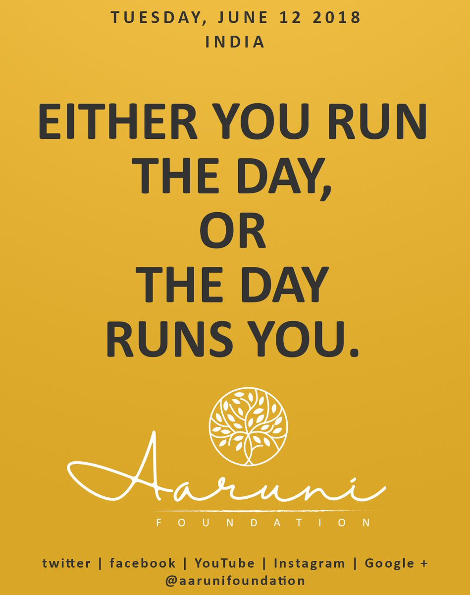 aaruni foundation on quote of the day