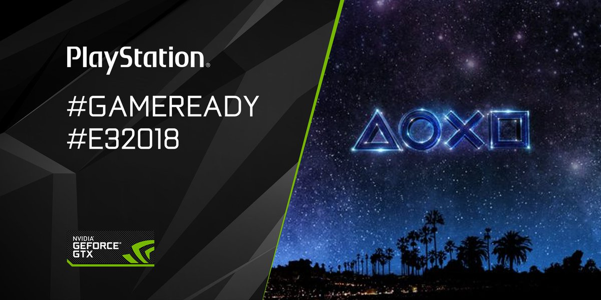 Time for the final conference of the day: #PlayStationE3 kicks off now! What are you most excited for? #GameReady #E32018