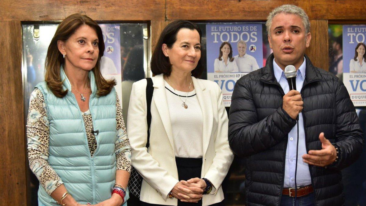 La Anti-Ingrid: Clara Rojas adhiere a campaña de Iván Duque