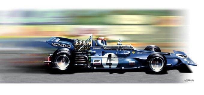 "Happy Birthday \""Flying Scot\"". Sir John Young \""Jackie\"" Stewart. 3 times World Champion (69, 71, 73)."