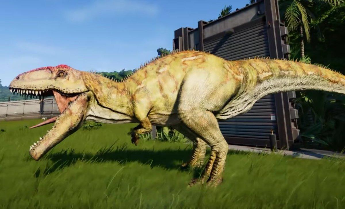 jurassic world evolution on twitter quotspinosaurus