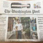 North Korean defectors, including Ji Seong-ho, president of Now, Action, and Unity for Human Rights, a 2018 #DemAward recipient & #NEDemocracy grantee is featured on the cover of @washingtonpost today.  https://t.co/JOUjzz5Bc1