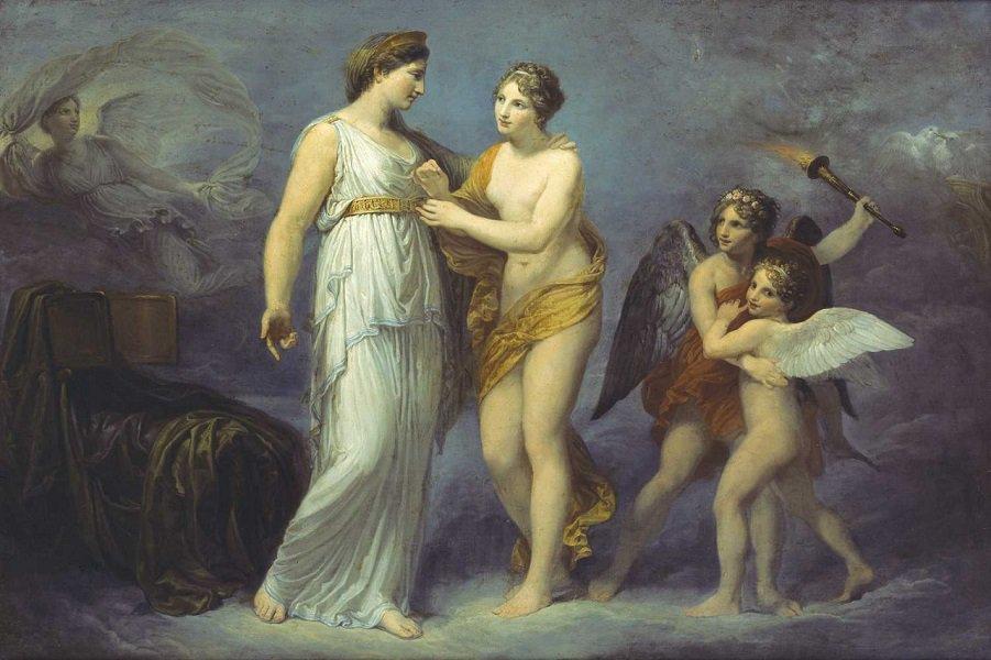 aphrodite goddess painting - HD1200×797