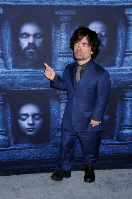 Happy birthday Peter Dinklage. He\s pictured at the Season 6 premiere in 2016 at the theatre.