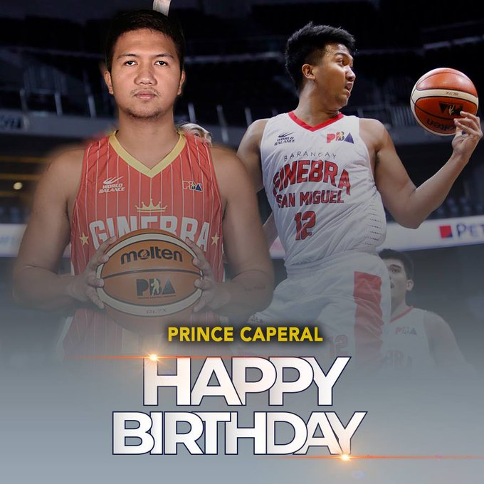 Happy 25th birthday to Prince Caperal!