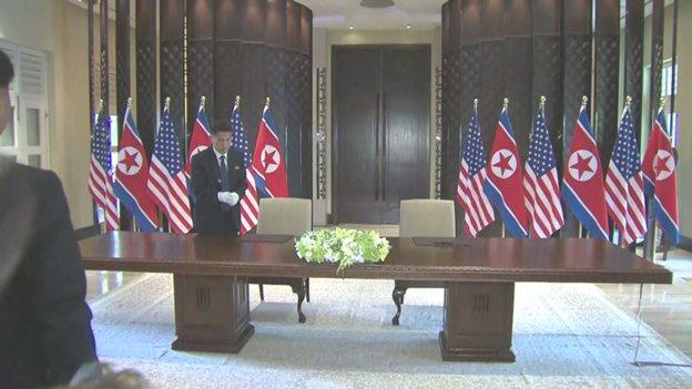 Перший в історії саміт за участю лідерів США та Північної Кореї завершився в Сінгапурі - Цензор.НЕТ 6352