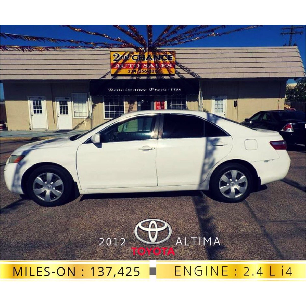 2nd Chance Auto Sales >> 2nd Chance Auto Sale On Twitter Toyota Camry An