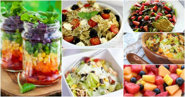 20+ Tasty Summer Salads to Enjoy in the Sun https://t.co/pLXP9icFee #food #foodie #yum #yumyum #recipeswap #yummy https://t.co/UwzQo1RPKt