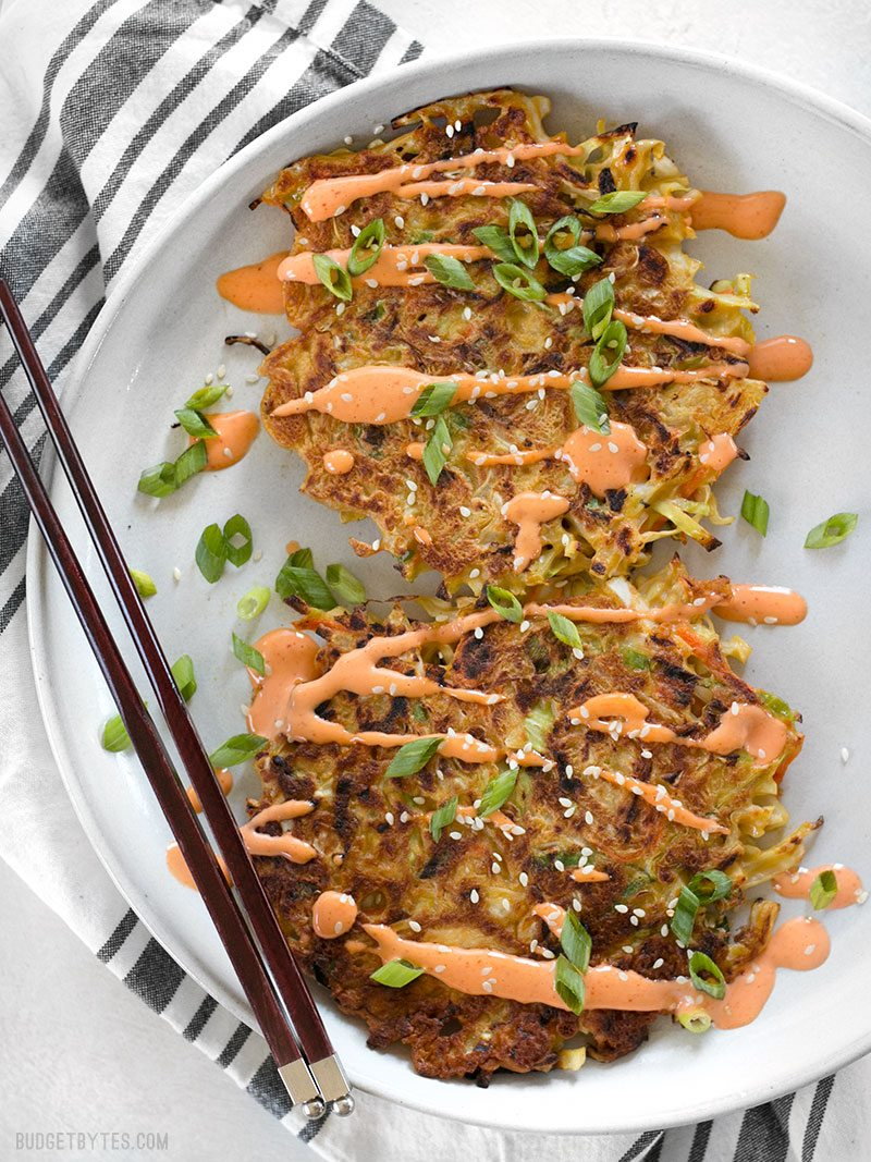 Please RT! #recipes #food #dessert Savory Cabbage Pancakes (Okonomiyaki) https://t.co/7rWXXD1Egw https://t.co/WQha6cQRQP