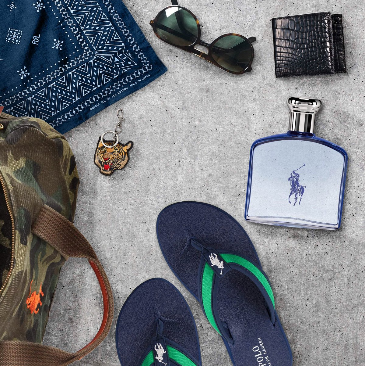 Summer Essentials including the newest @PoloRalphLauren scent #PoloUltraBlue