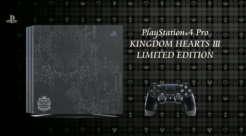 Kingdom Hearts 3 Limited Edition PS4 PRO