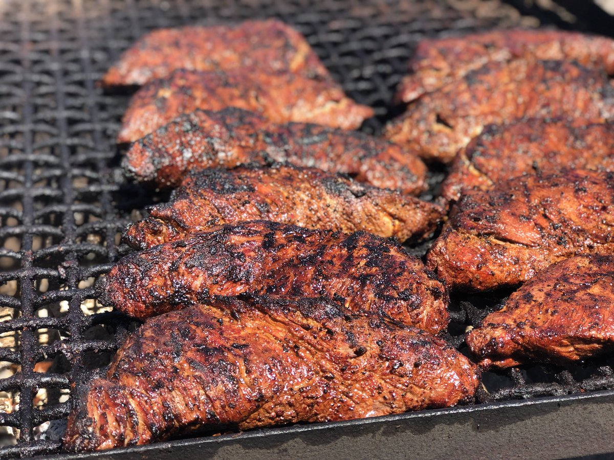 cv bbq on twitter tri tips were on the grill today at the