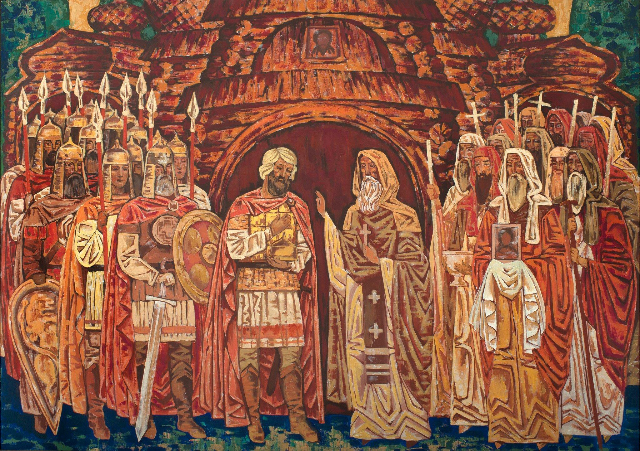 мастерски картинка благословение дмитрия донского сергием радонежским камнем может