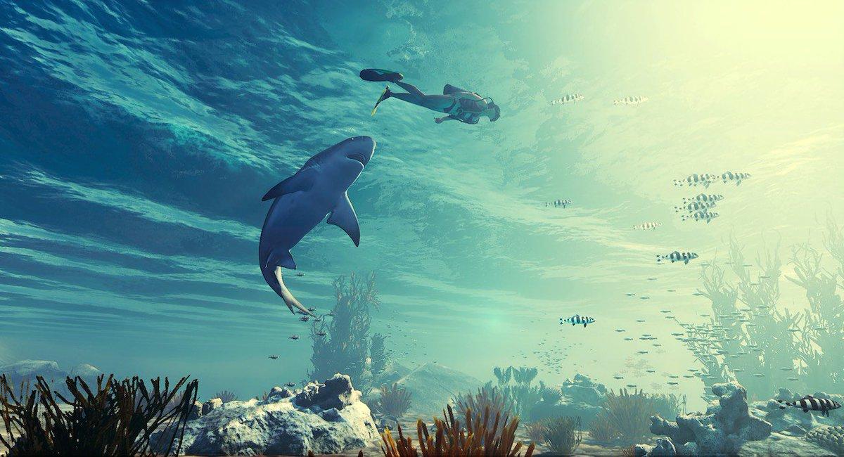 【ニュース】サメになって人間を食らうUE4製オープンワールド・シャークアクションRPG『MANEATER』最新映像公開