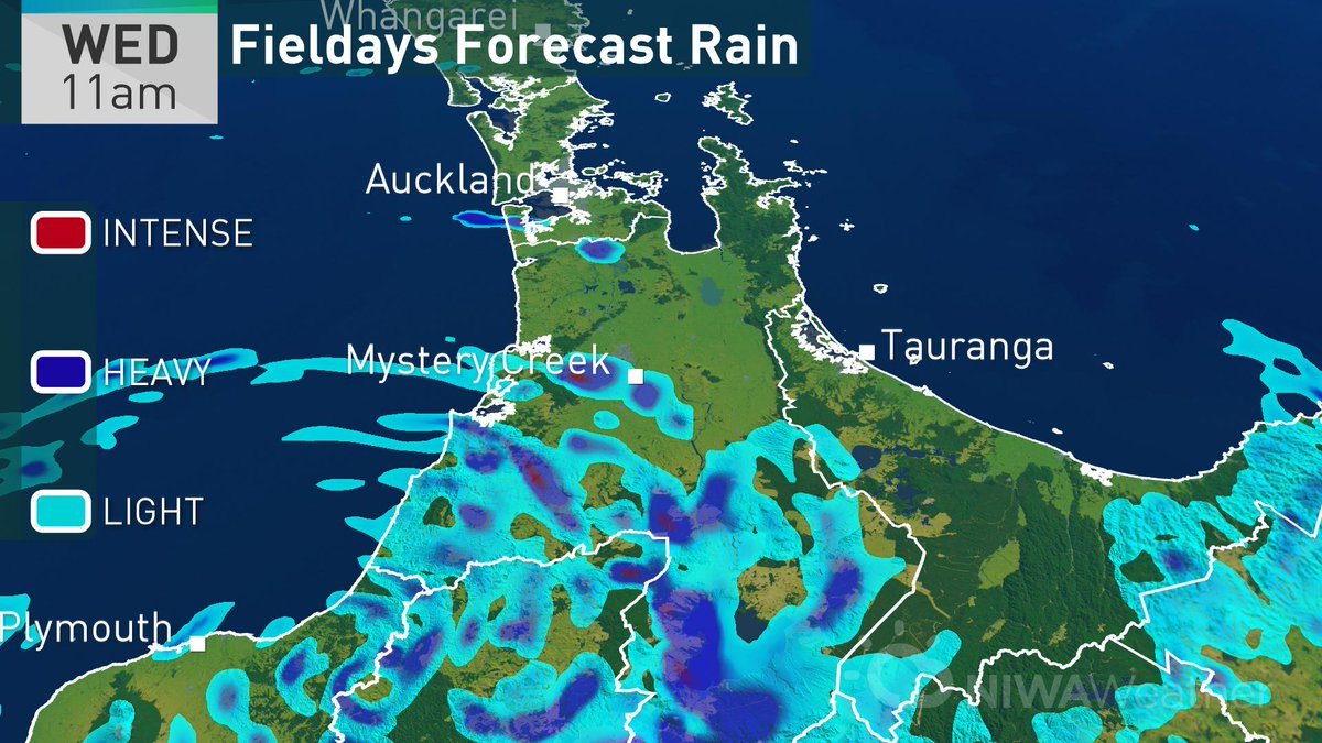 Niwa weather on twitter are you heading to the first day of a rain jacket as were expecting scattered showers at mystery creek dress warm too as breezy conditions will make it feel colder than the expected gumiabroncs Images