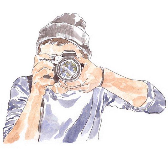 Картинки нарисованные фотограф, картинку босс поздравительная