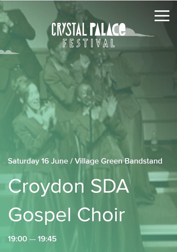 Croydon Gospel Choir (@CroydonGChoir)   Twitter