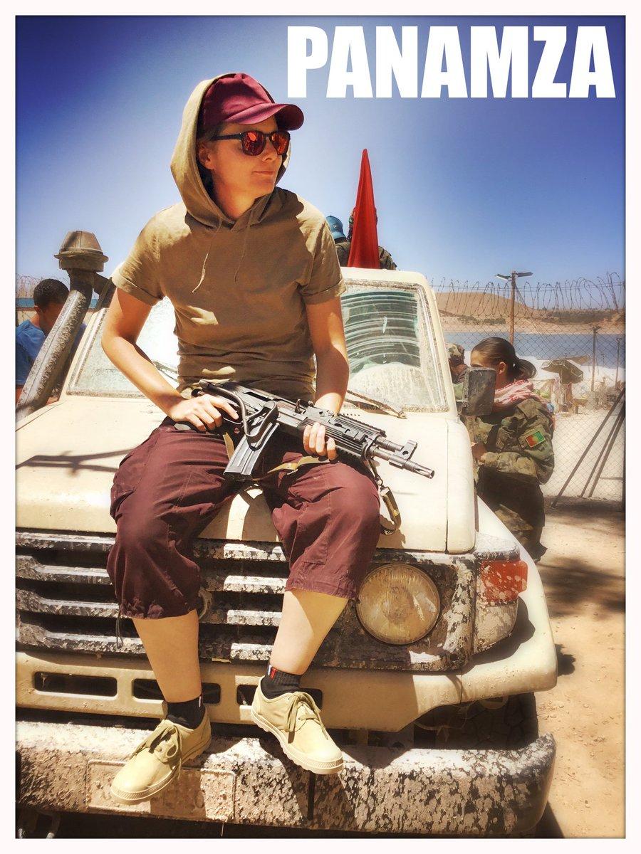 Au Maroc, Fourest joue au soldat