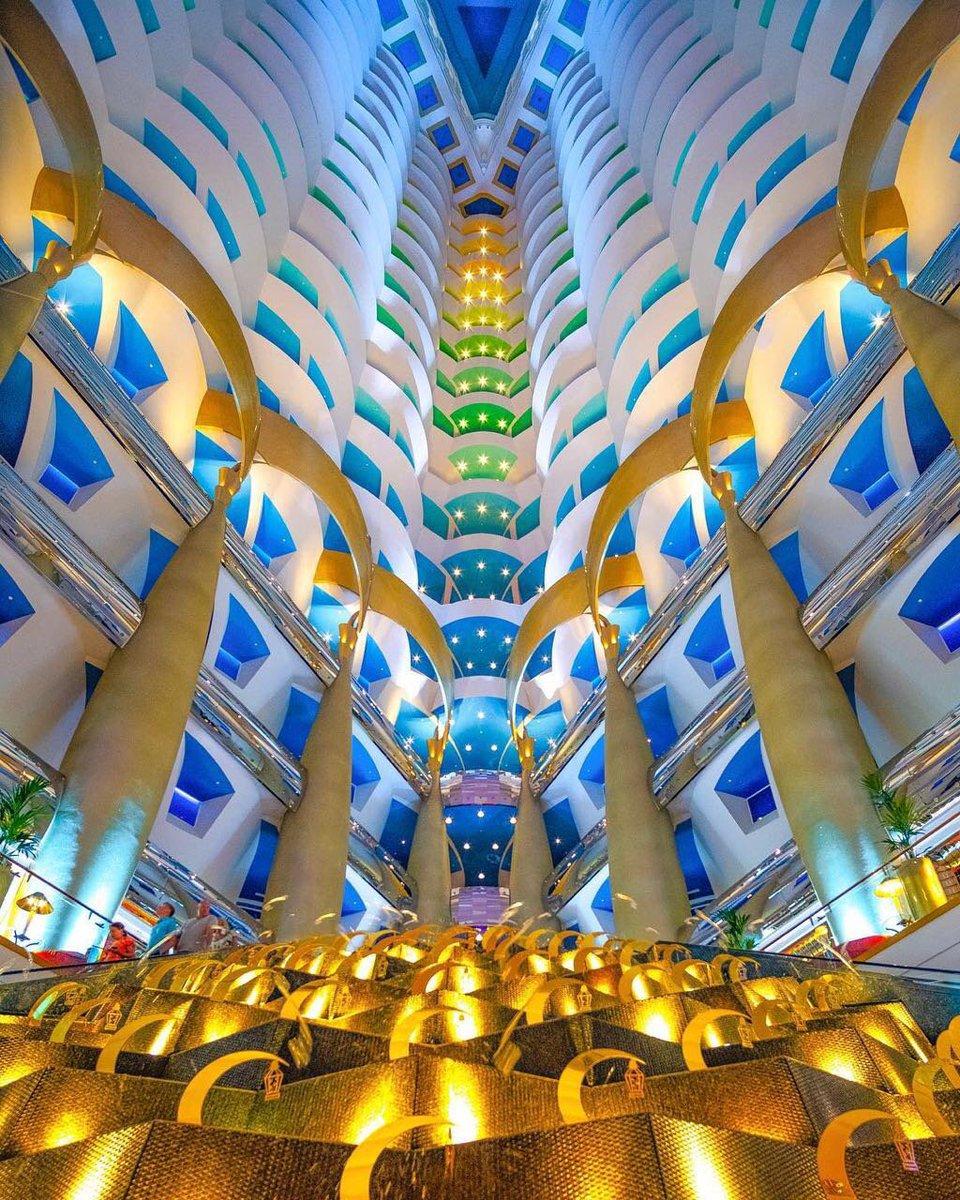 The heart of heritage #BurjAlArab #Dubai #Atrium #RamadanKareem Thank you 📸 @felipeomenezes