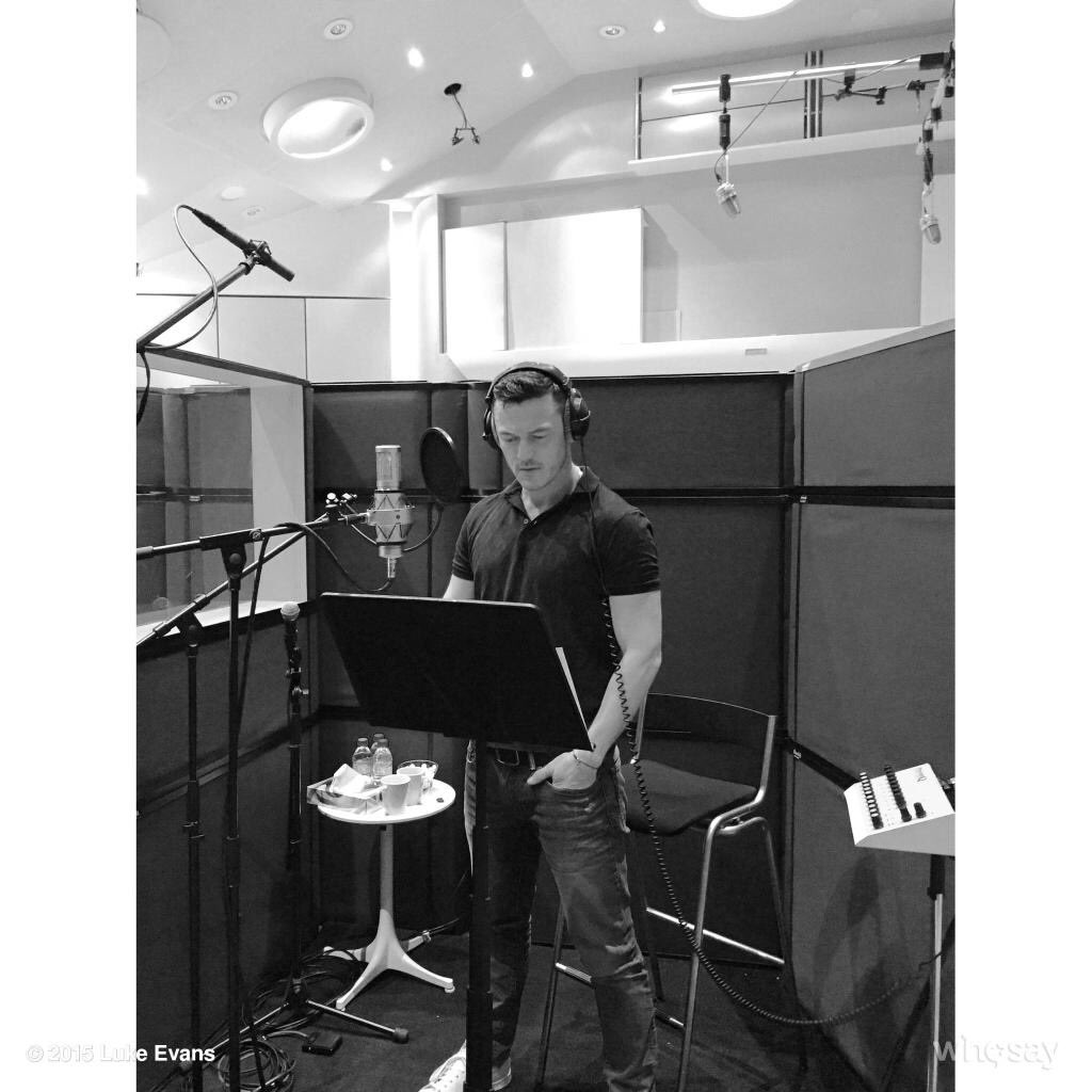 We already knew he could sing like a pro and when #LukeEvans was cast as #Gaston I think the whole world paid attention. He has such a rich character to his voice, so smooth, tender and deep at the same time. #Luketeers