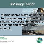 #MiningCharter Twitter Photo