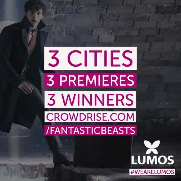 Every entry to our sweepstakes will go to support Lumos' work across the world, where we are working with governments to close orphanages, reunite children with families, & put in place safe and sustainable community-care services #BeTheLight #WeAreLumos bit.ly/fb-lumos-twitt…