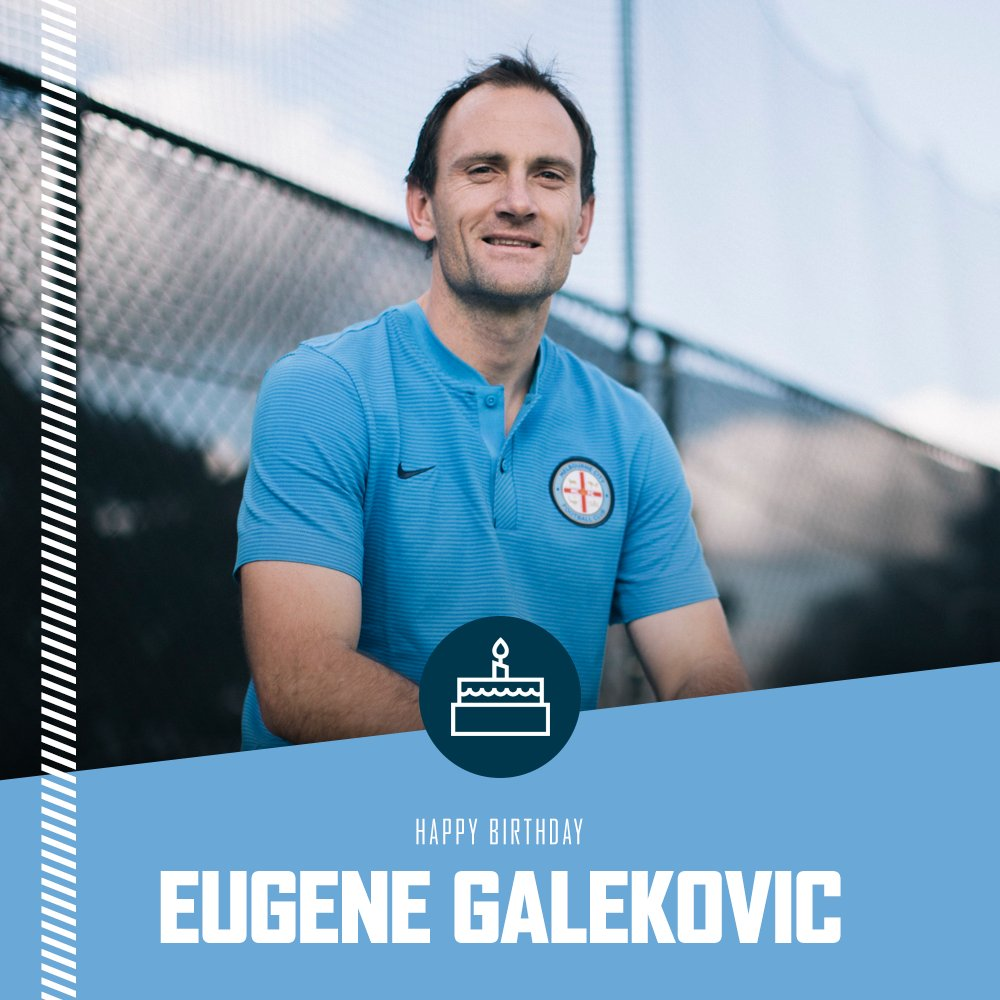 It must be a keeper\s sort of day! Happy Birthday to Eugene Galekovic and former gloveman