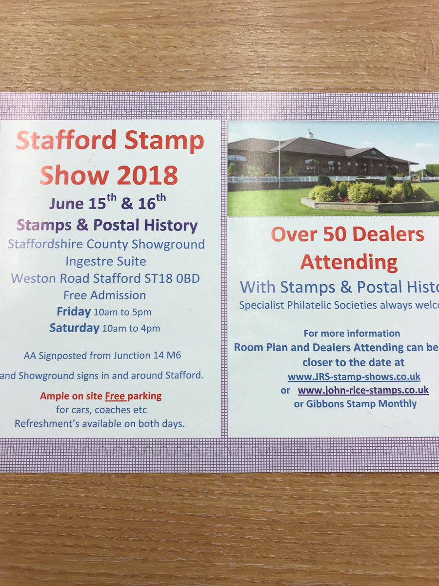 stampshows hashtag on Twitter