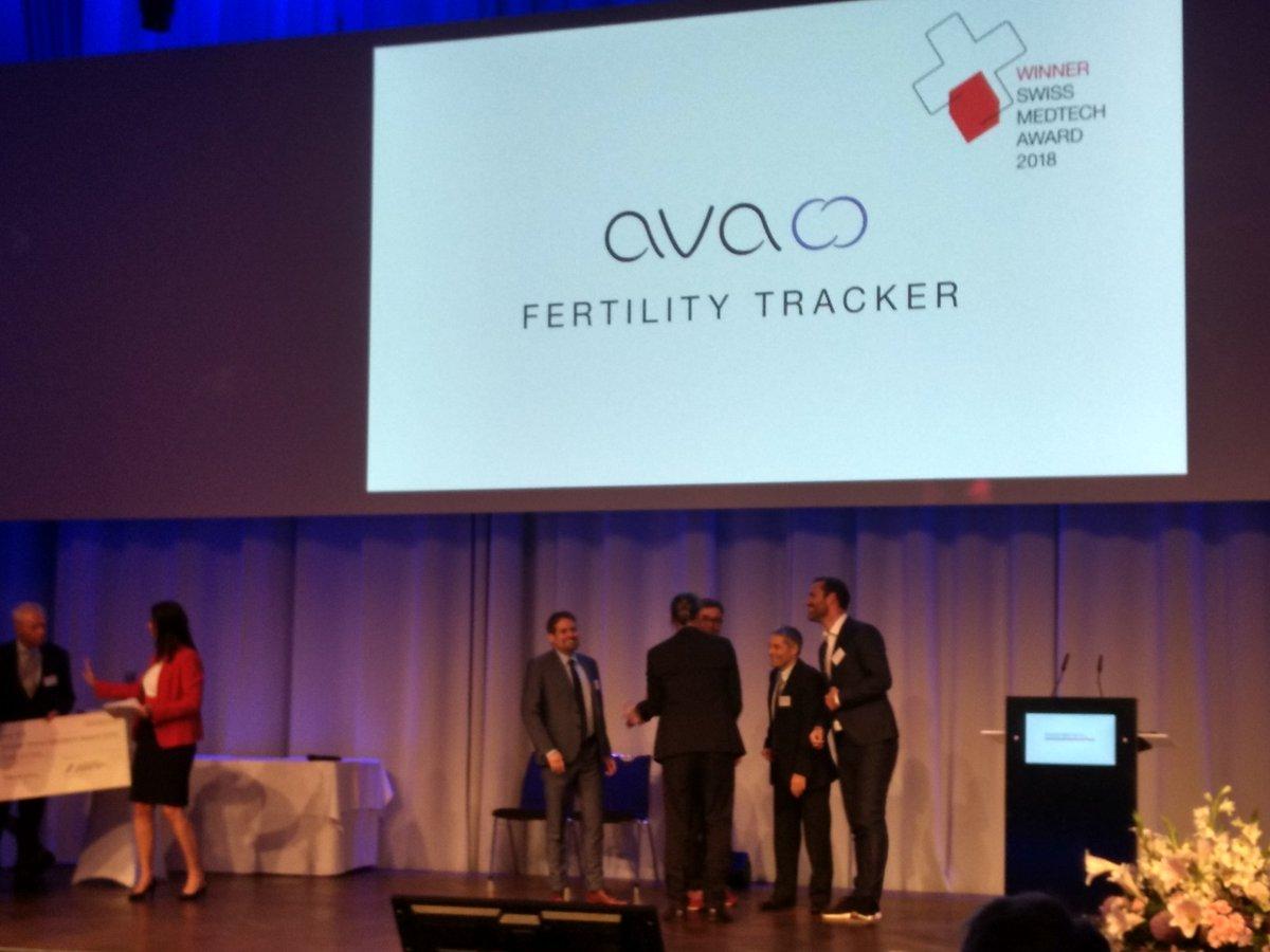 Congrats to former W.A. #DeVigier #Award winner (2015) @AvaWomen for winning the #Swiss #Medtech Award 2018 #SwissStartups #digitalHealth