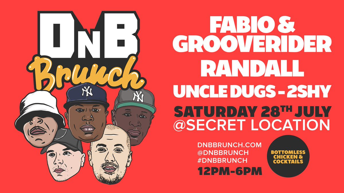 DnB brunch 28th July 💥👌🏿🍽 Tickets ; skiddle.com/whats-on/Londo…
