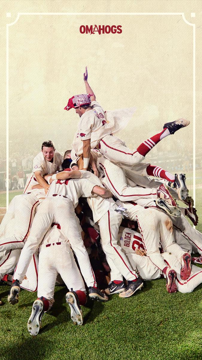 Razorback Baseball On Twitter New Phone Wallpaper