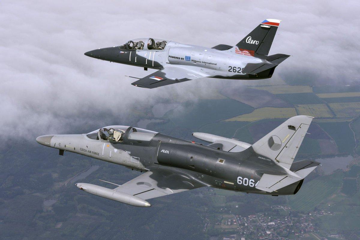 شركة Aero Vodochody التشيكيه وشركة IAI الاسرائيليه ستطوران نسخه خاصه من L-159 لصالح الولايات المتحده  Dff8GKPX4AAf4ne