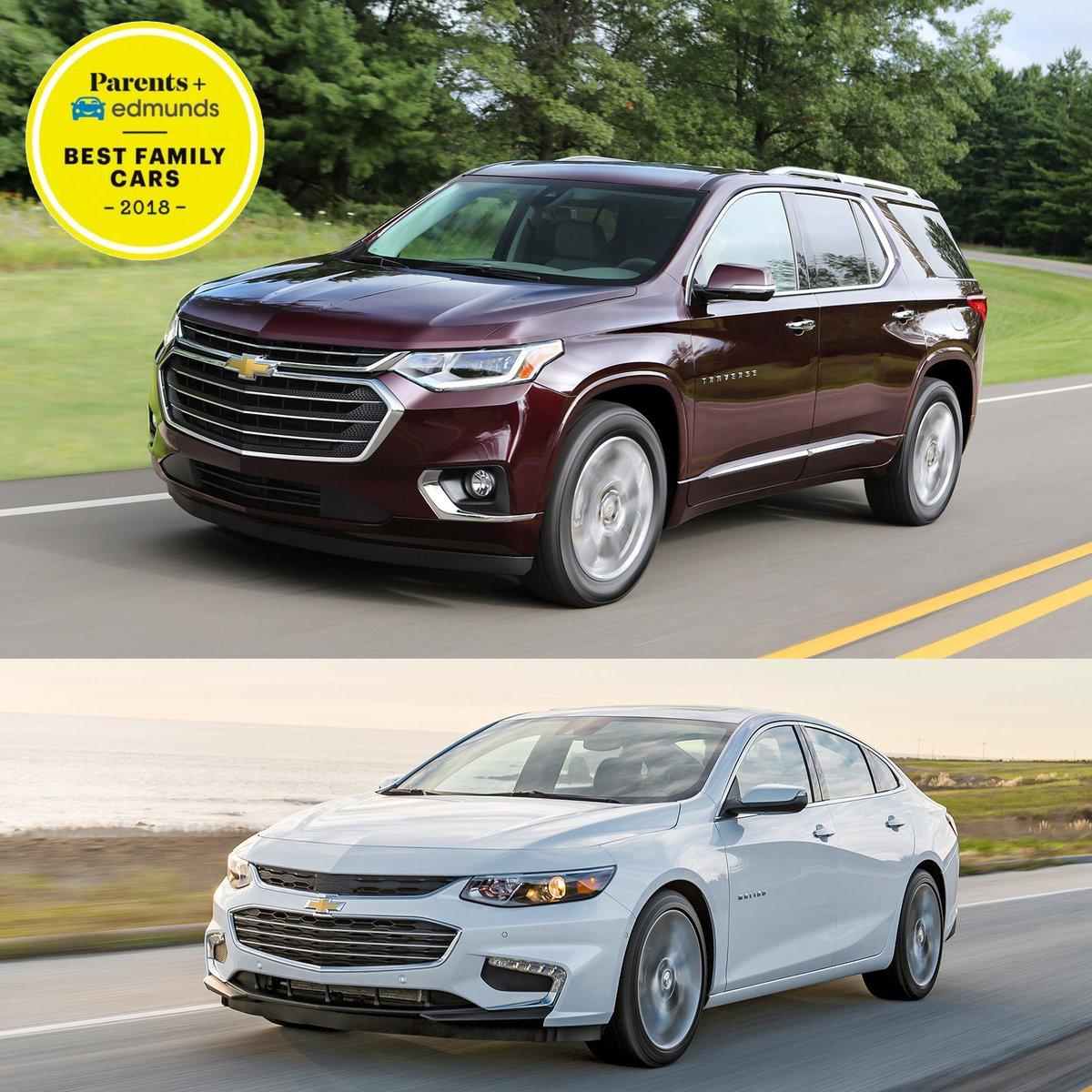 The Traverse Was Named A Best Three Row Suv And Malibu Sedan Great Work Chevy Read Full Write Up Here Https Edmu In 2llycnd