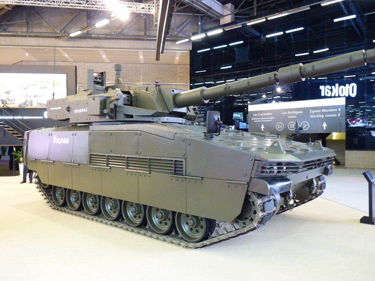شركة Otokar التركيه تقدم الدبابه الخفيفه Tulpar  DffLsxuWsAAgwAb