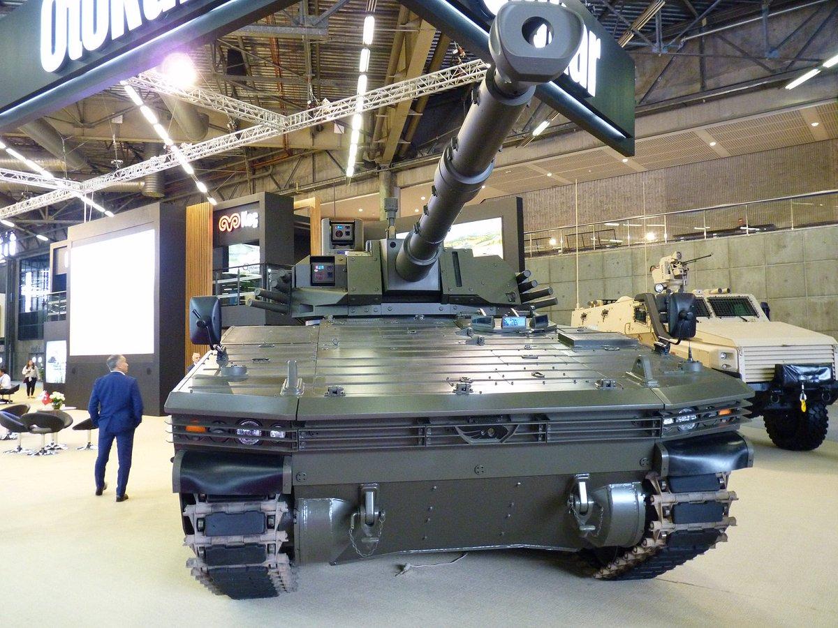 شركة Otokar التركيه تقدم الدبابه الخفيفه Tulpar  DffLsyHWAAAV7zk