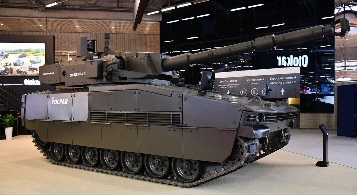 شركة Otokar التركيه تقدم الدبابه الخفيفه Tulpar  DffLsyNWkAAb9hb