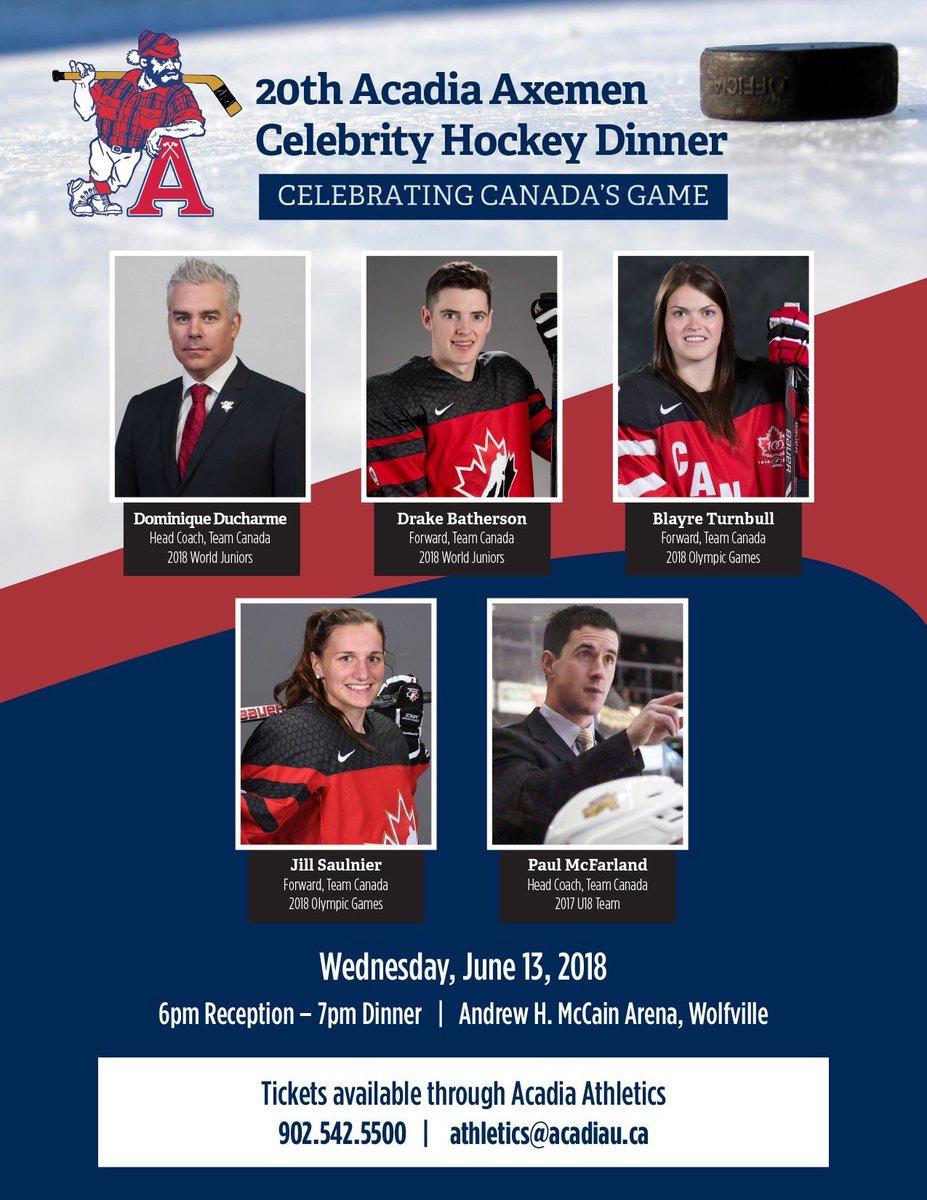 Acadia Axemen Hockey on Twitter: