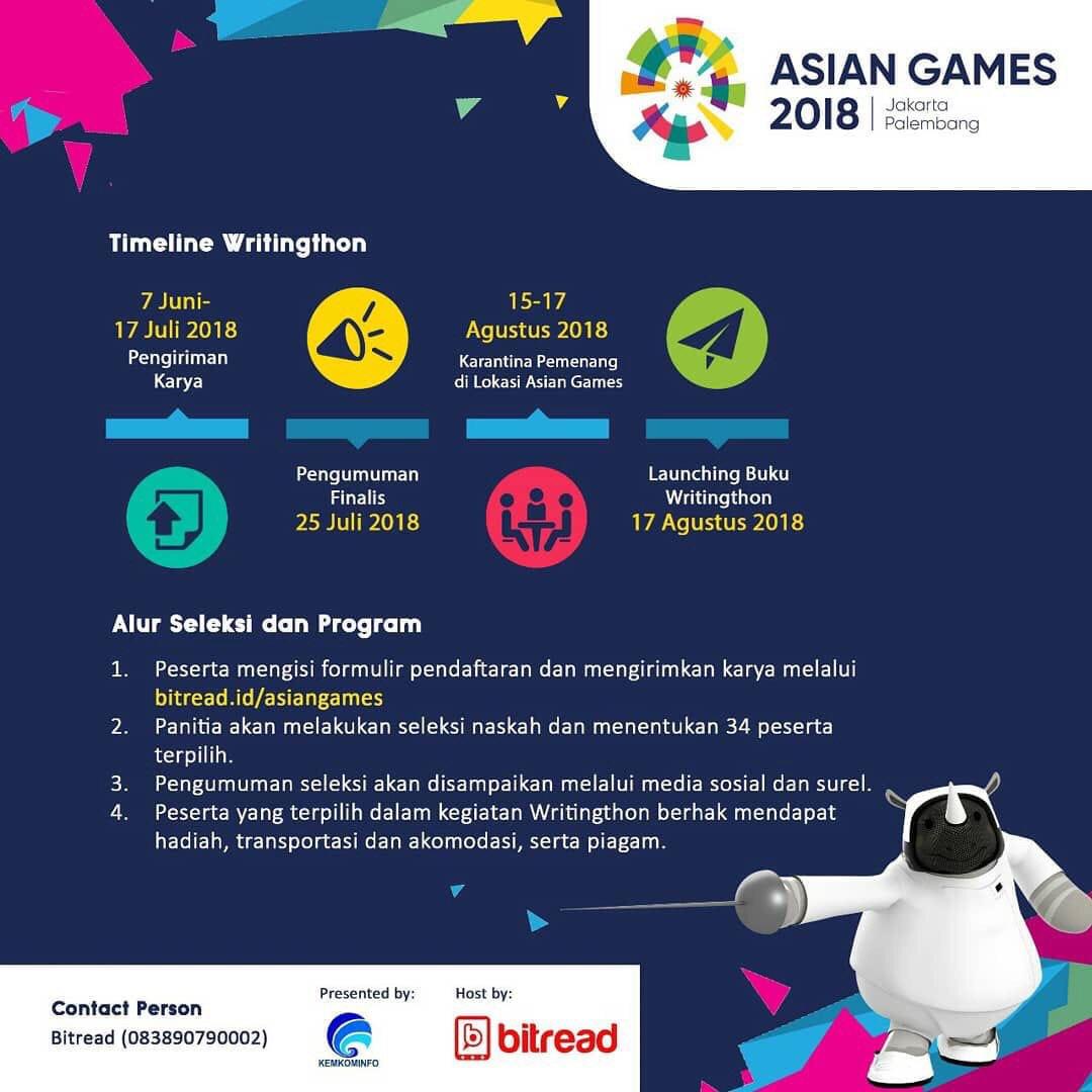 DffQUd7U0AAZPEE - Asian Games Writingthon