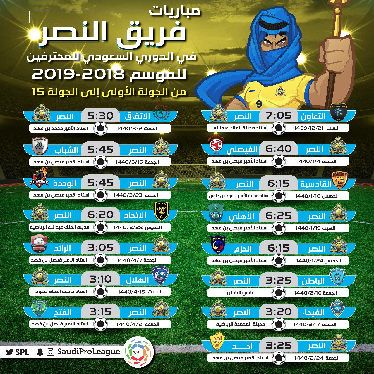 الدوري السعودي اليوم مباريات