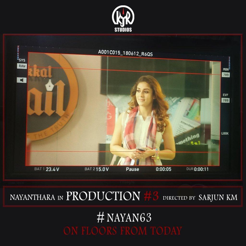 Nayanthara in Nayan 63