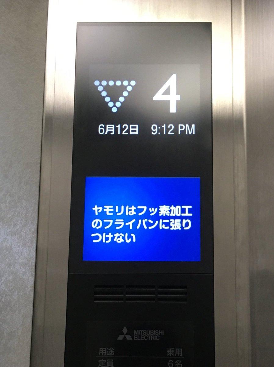 我が社のエレベーターに表示されるどうでも良過ぎて本当にどうでも良い雑学に一年ぶりに再会した。