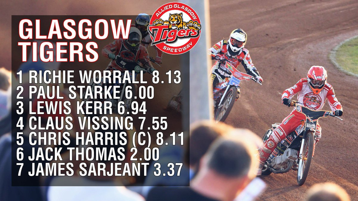 43797c2651c The visitors are the Workington Comets who smashed the Tigers just one month  ago. Buy your tickets for Glasgows greatest Friday night out! ...