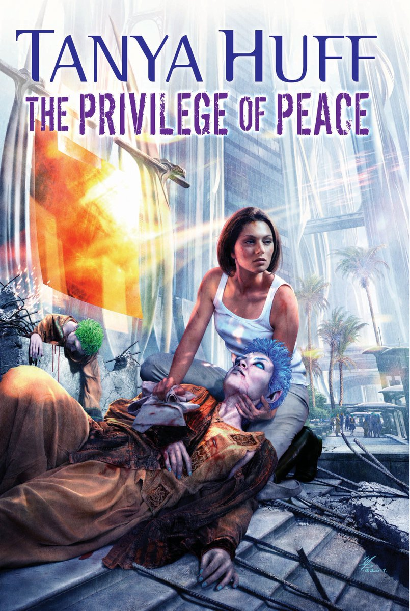 Happy #BookBirthday to @TanyaHuff&#39;s THE PRIVILEGE OF THE PEACE, the final book in the Peacekeeper trilogy.  https:// bit.ly/2EFojNo  &nbsp;  <br>http://pic.twitter.com/jAlCLTB39y