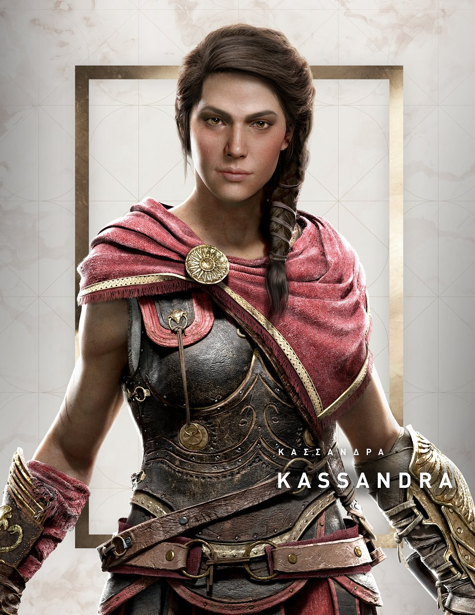 assassins creed odyssey kassandra voice actor