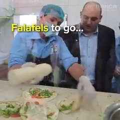 Free falafels to feed the hungry in Yemen. #FalafelDay
