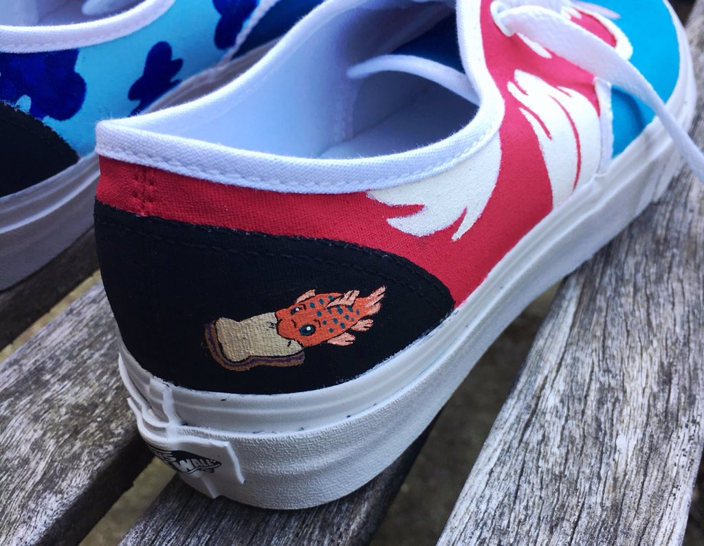 3fedaf50b04 ... here too  These are some Lilo and Stitch Vans I was commissioned to  paint. If you re interested in some custom shoes of your own