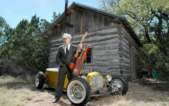 Happy birthday, Junior Brown! The man with the transgender guitar is 64 today.