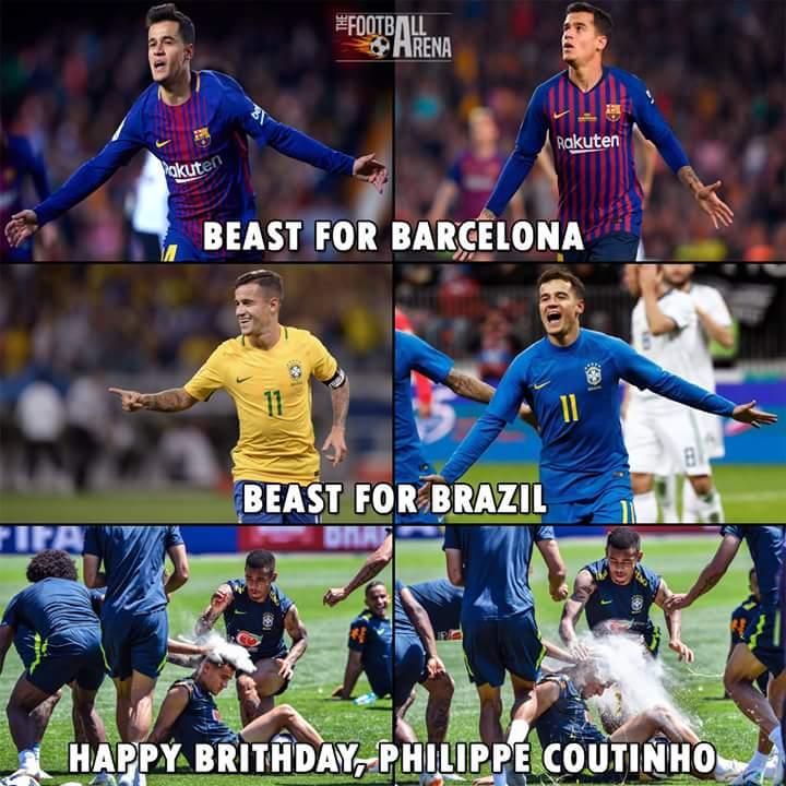 Happy Birthday, Philippe Coutinho
